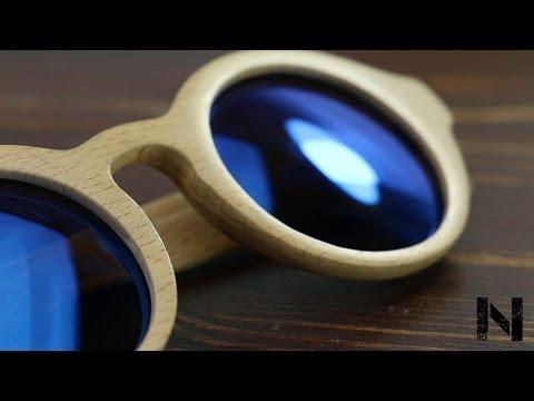Making wooden sunglasses