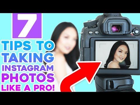HOW TO: Take Instagram Photos Like A Pro!