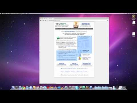 How to: Download World of warcraft Addons for mac / Wowmatrix