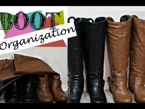 Easy Way to Keep Your Boots Organized: Under $1.50!!!