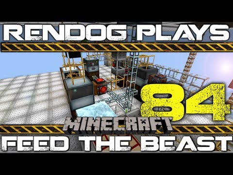 [S1E84] Let's Play Minecraft FTB - Quad Uranium Cell Factory!
