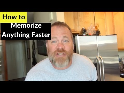 How to Memorize Faster | Memorize Anything Fast (Cards, Numbers, Names, Etc)