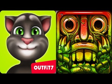 Which Better Play?*My Talking TOM Level 100 Vs.Temple Run 2 Lost Of Jungle*Gameplay make Kid #321