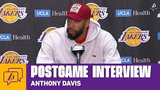 Lakers Postgame: Anthony Davis (3/10/20)