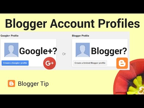 How to set a profile for your Blogger account