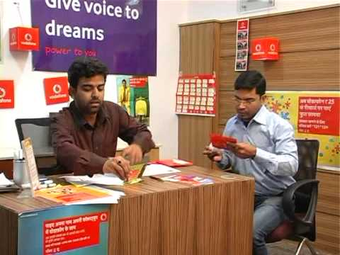 Vodafone Rajasthan Prepaid Activation Process