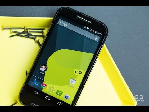 Moto e Android 4.4.4 kitkat update