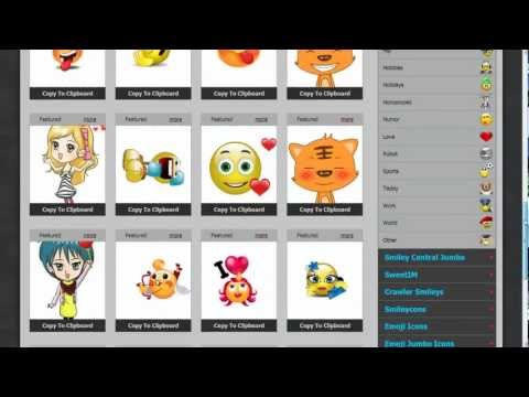 Free Smileys, Animated Emoticons for Gmail, Yahoo Mail, Hotmail, Outlook and other web based email