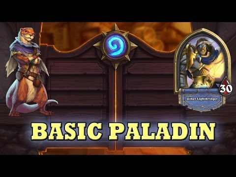 Hearthstone Deck Guide - Starter Paladin (Basic Cards Only)