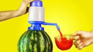 15  AWESOME LIFE HACKS WITH WATERMELON