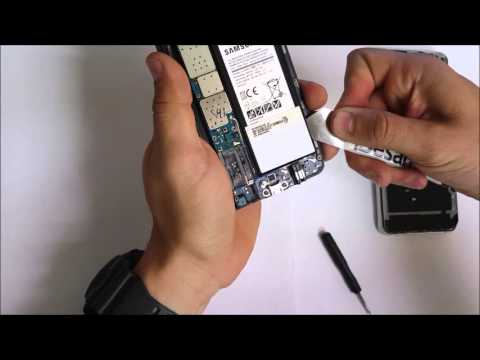How to Replace the Battery on a Samsung Galaxy Note 5