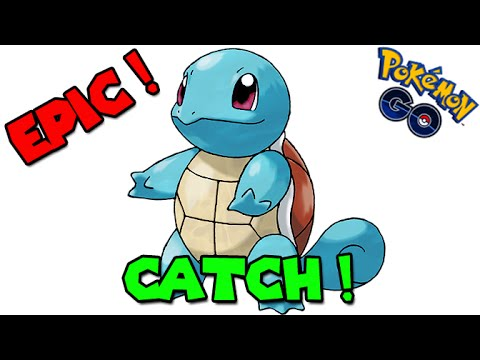 Catching EPIC Squirtle ! (POKEMON GO CATCH)