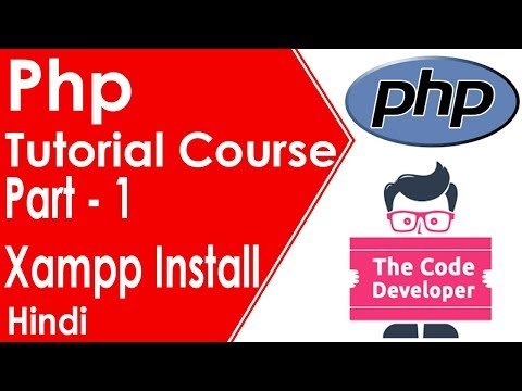 Php tutorial course part 1 | How to xampp install and set password | Hindi