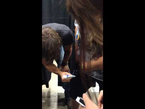 Signing with Bleach Pen