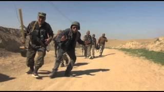 خط مقدم جنگ به رهبری عبدالرشید دوستم