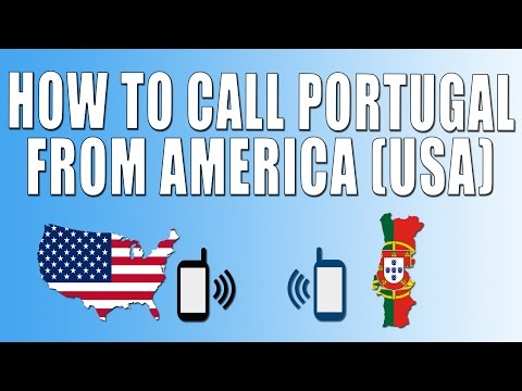 How To Call Portugal From America (USA)