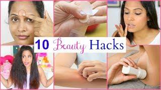10 Beauty Hacks Every Girl MUST Know | ShrutiArjunAnand