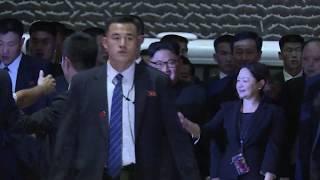 Kim Jong-un arrives at Marina Bay Sands hotel ahead of summit
