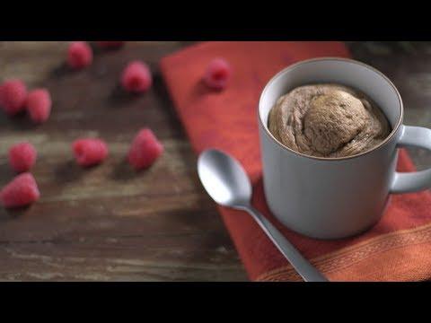 Pumpkin-Chocolate Mug Cake