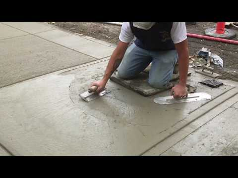 Beginners Learn to Install a Concrete Walkway in 5 min | Concrete and Cement Work