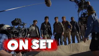 Maze Runner: The Scorch Trials: Behind the Scenes Movie Broll - Dylan O