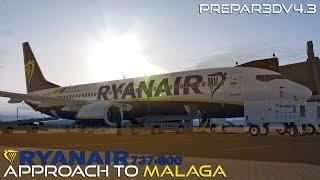 P3Dv4 3: PMDG 737 arrival KBWI (LatinVFR)