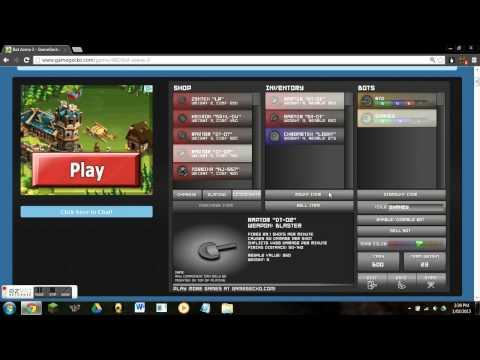 Online Flash Games Part 2! Bot Arena 3