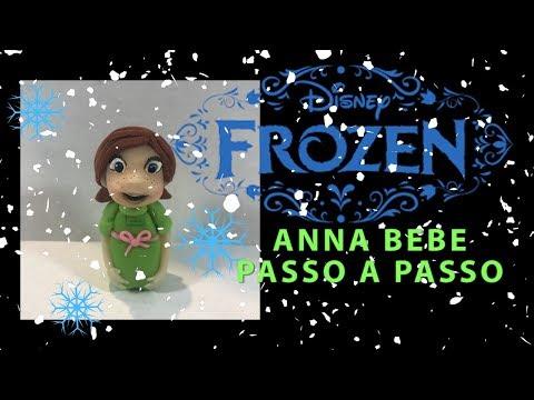 ANNA (FROZEN Uma Aventura Congelenate) BEBE PASSO A PASSO | PERSONAGEM EM MASSA | CCG