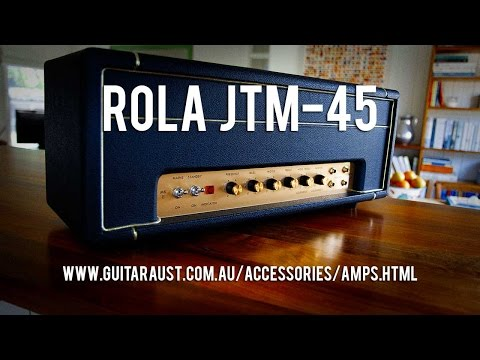 ROLA JTM-45 Handwired Amplifier Head