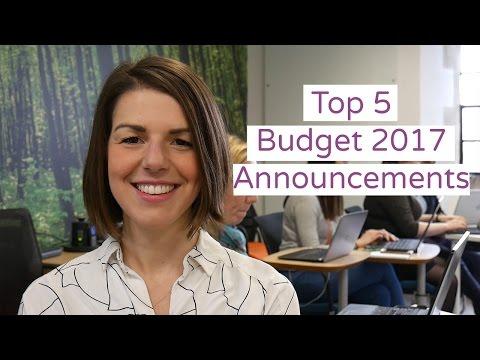 Budget 2017: Reaction Top 5 Budget Annoucements