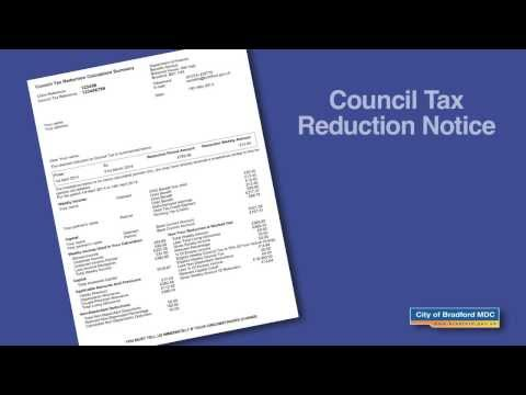 Council Tax Reduction Notice