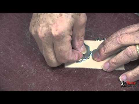 Leather Belt Buckle Making With Ring And Hook