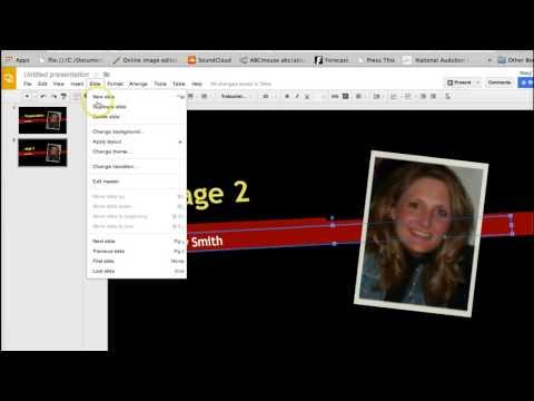 How to make a FREE Slideshow Presentation on Google Drive