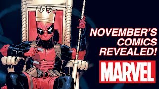 EXCLUSIVE: November Preview Special! | Marvel's Pull List