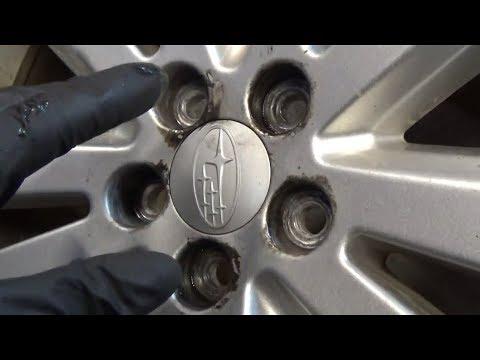 Subaru Snaps Wheel Studs!
