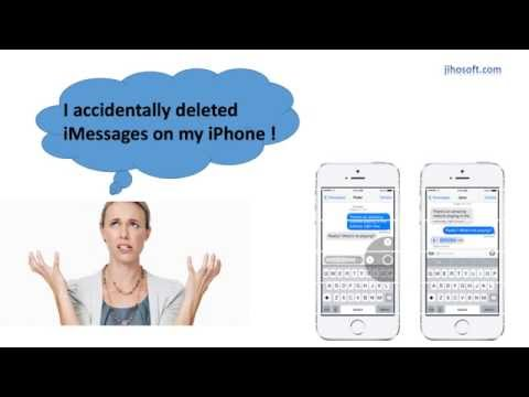 How to Recover Deleted iMessages on iPhone
