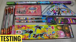 Testing new and unique firework stash 2019 Testing different types of crackers 2019
