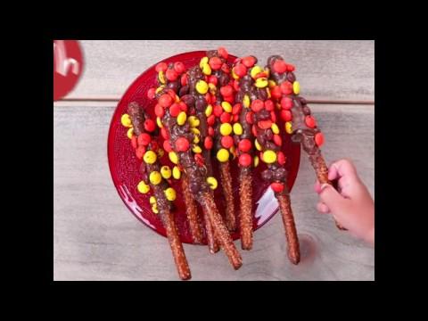 Amazing Nutella and Pretzel sticks!