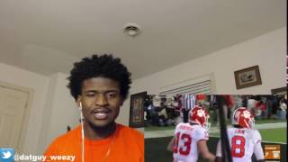 #1 Alabama vs. #2 Clemson Highlights | CRAZY 2016-17 National Championship Highlights REACTION!!!