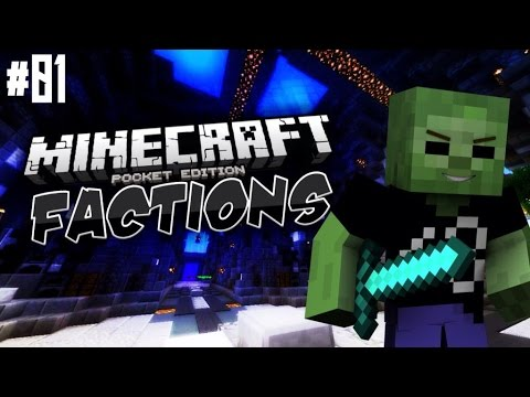 MCPE FACTIONS - Ep. 1 - Chaos! - Minecraft PE (Pocket Edition) Server Let's Play
