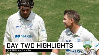 Blues seize advantage after Warner's vital ton | Marsh Sheffield Shield 2019-20