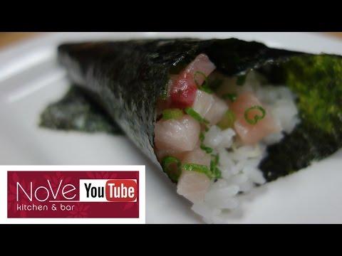 Temaki Sushi (Hand Roll) - How To Make Sushi Series