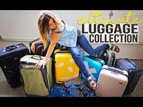 my ULTIMATE LUGGAGE COLLECTION
