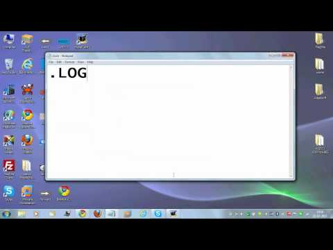 How to make a clock in notepad