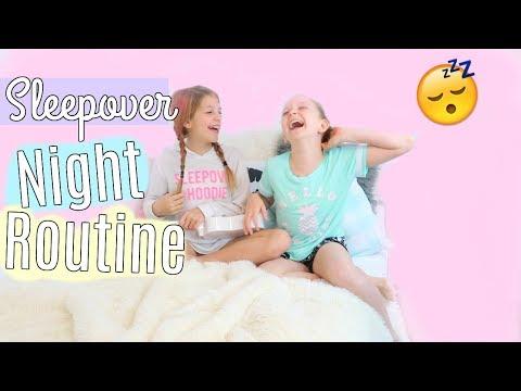 Summer Sleepover Night Routine | Dance Party 2017