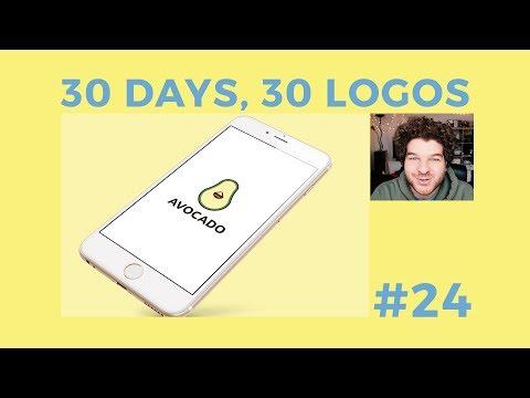 30 Days, 30 Logos #24 - Avocado