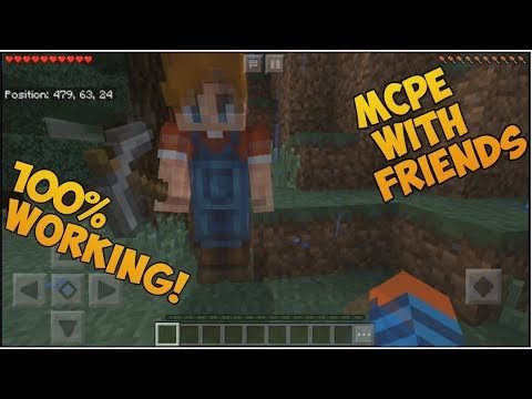 How to play Minecraft PE with friends*NO xbox live account**100% working* easy 2018