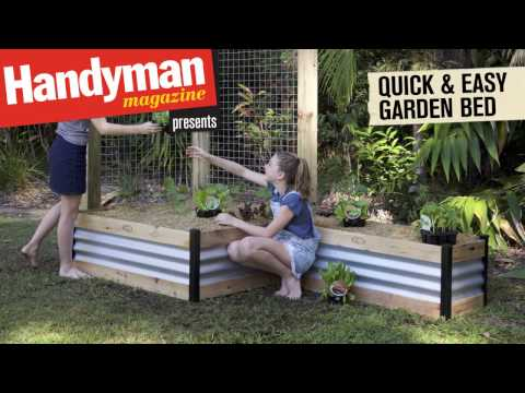 Build A Quick And Easy Raised Garden Bed