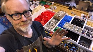 Adam Savage Builds a LEGO Sorting and Storage System!