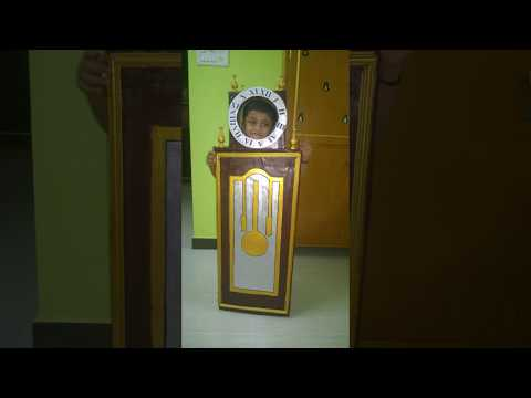 Fancy Dress Competition Grandfather clock